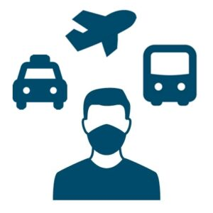 Obligation to wear masks in public transport (local and long-distance traffic)